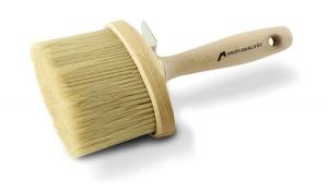 Fassadenstreichbürste – Profi | M6 | oval | Maße 135 × 65 mm
