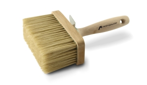 Fassadenstreichbürste – Profi | M6 | eckig | Maße 135 × 65 mm