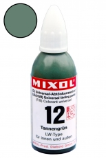 Mixol Abtönkonzentrat 12 Tannengrün 20 ml