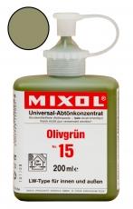 Mixol Abtönkonzentrat 15 Olivgrün 200 ml