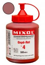 Mixol Abtönkonzentrat 04 Oxyd-Rot 500 ml