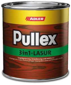 ADLER Pullex 3in1-Lasur Holzschutzlasur | 2,5 Liter