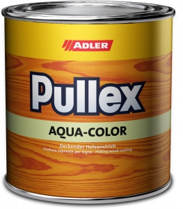 ADLER Pullex Aqua-Color Wetterschutzfarbe - deckender Holzanstrich   0,75 Liter