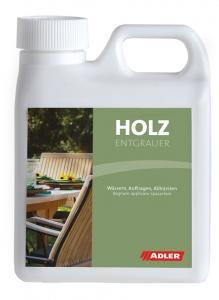 ADLER Holzentgrauer – Holzreiniger & Aufheller | 1 Liter