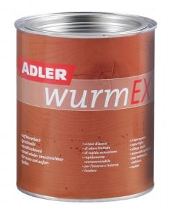 ADLER WurmEX – Holzschutzmittel für innen & außen | Gegen Holzschädlinge | 0,750 Liter