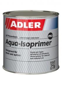 ADLER Aqua-Isoprimer PRO – Weißer Grundlack für innen & außen | 0,750 Liter