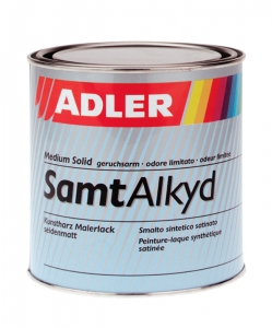 ADLER SamtAlkyd Buntlack – seidenmatter Kunstharzlack | 0,375 Liter