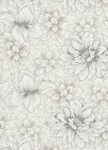 erismann Tapete 5425-02 - Vliestapete mit floralem Muster