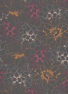 erismann Tapete 5425-04 - Vliestapete mit floralem Muster