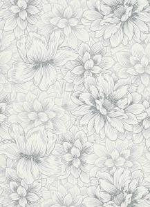 erismann Tapete 5425-10 - Vliestapete mit floralem Muster