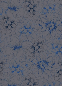 erismann Tapete 5425-15 - Vliestapete mit floralem Muster