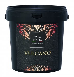 CASA ITALIA Vulcano - Effektlasur in Steinoptik | 2,5 Liter