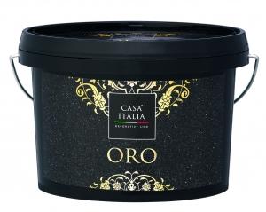 CASA ITALIA Oro - Metalleffektfarbe Gold | 1 Liter