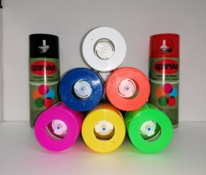 SparVar - Kreidespray mit Überkopfventil | 400 ml