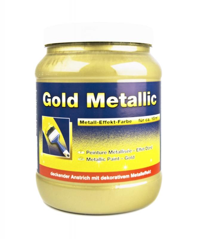 pufas gold metall effekt farbe 1 5 liter. Black Bedroom Furniture Sets. Home Design Ideas