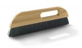 Tapezierwischer Dachs – Profi | M6 - Nylon innen | mit Griffloch | Größe 300 mm