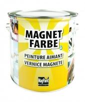 MagPaint MagnetFarbe | dunkelgrau + überstreichbar | 2,5 Liter