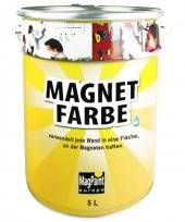 MagPaint MagnetFarbe | dunkelgrau + überstreichbar | 5,0 Liter