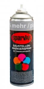 SparVar - Baustellen-Markierungsspray mit Überkopfventil | 500 ml