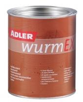 ADLER WurmEX – Holzschutzmittel für innen & außen | Gegen Holzschädlinge | 0,125 Liter