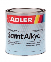 ADLER SamtAlkyd Buntlack – seidenmatter Kunstharzlack | 2,5 Liter