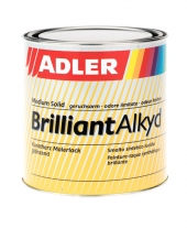 ADLER BrilliantAlkyd Buntlack – glänzender Kunstharzlack | 0,375 Liter