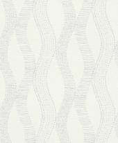 erismann Tapete 6348-21 - Vliestapete mit Streifen & Wellen