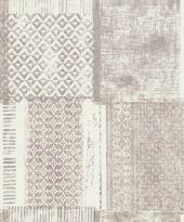 erismann Tapete 6349-11 - Vliestapete mit grafischen Muster