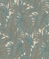 erismann Tapete 5410-19 - Vliestapete mit floralem Muster