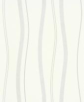 erismann Tapete 5401-31 - Vliestapete mit Streifen / Wellen