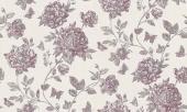 erismann Tapete 6335-16 - Vliestapete mit floralem Muster