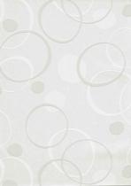 erismann Tapete 4038-10 - Großrolle/Vlies mit Kreisen | überstreichbar