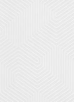 erismann Tapete 5374-01 - Großrolle/Vlies mit grafischen Muster | überstreichbar