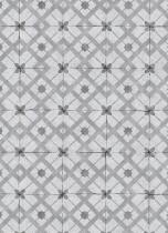 erismann Tapete 6366-15 - Vliestapete mit grafischen Kacheln