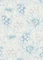 erismann Tapete 5425-08 - Vliestapete mit floralem Muster