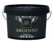 CASA ITALIA Argento - Metalleffektfarbe Silber | 1 Liter