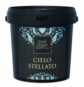 CASA ITALIA Cielo Stellato - Effektfarbe mit Silberglitter | 2,5 Liter