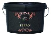 CASA ITALIA Ferro - Effektfarben-Set in Rostoptik | 1,2 Liter