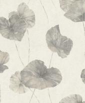 rasch Tapete 458213 - Vliestapete Naturdesign/ große Blätter