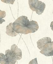 rasch Tapete 458220 - Vliestapete Naturdesign/ große Blätter